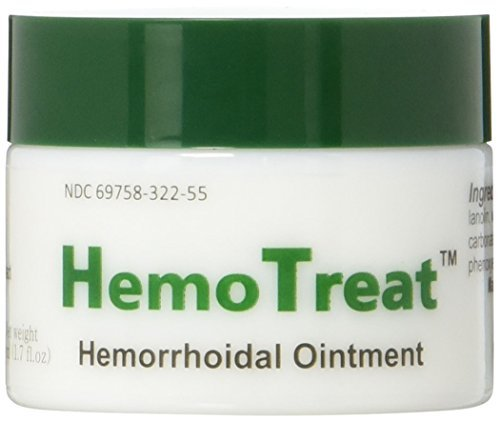 HemoTreat Hämorrhoiden Salbe, Creme für eine schnelle sichere effektive Behandlung 50 ml